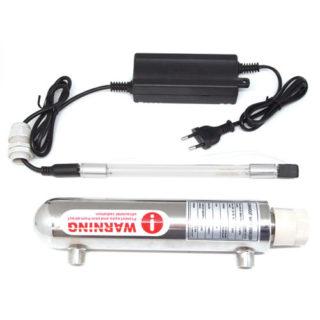 Lámpara esterilizadora de rayos UV.
