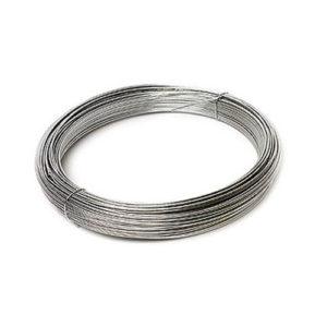 alambre de hierro galvanizado
