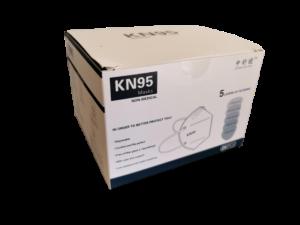 Mascarilla de protección KN95 FFP2 5 capas